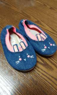 Cat denim shoes