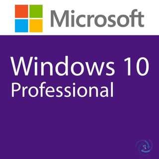 Windows 10 Professional 32bit/64bit Original