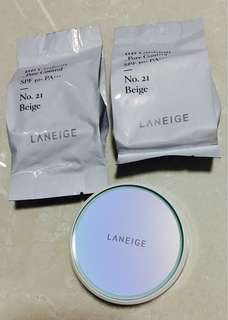 🚚 Laneige BB Cushion with 2 refills