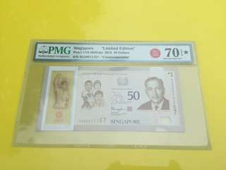 "Singapore SG50 $50 ""Limited Edition"""