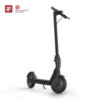 [PRE-ORDER] Xiaomi Mi Electric Scooter, 18.6 Miles Long-range Battery, Up to 15.5 MPH, Easy Fold-n-Carry Design, Ultra-Lightweight Adult Electric Scooter