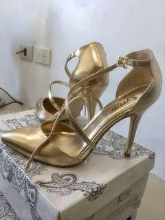 Spiral Gold heels