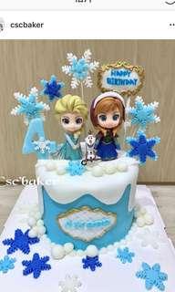 立體蛋糕 3Dcake 百日宴蛋糕 結婚蛋糕 忌廉蛋糕 生日蛋糕 公主蛋糕 公主城堡蛋糕 城堡蛋糕 冰雪奇緣蛋糕  frozen蛋糕 elsa蛋糕