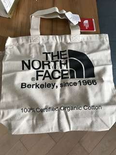 North face tote bag