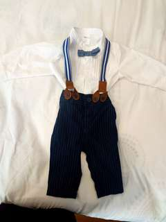 H&M Baby Boy Overall suit