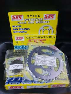 SSS Sprocket & Chain Set