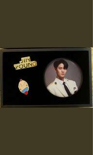 [WTB] Bae Jinyoung Official Arcylic Stand and Badge Set