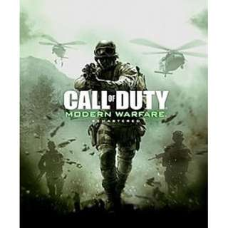 Call Of Duty: Modern Warfare Remastered Offline with DVD (PC)