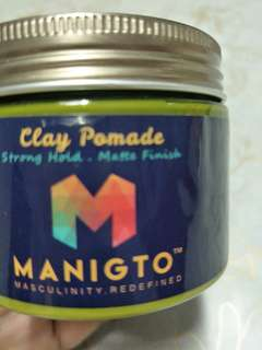 Manigto Clay Wax Pomade