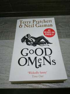 Pre loved Book for Sale: Good Omens by Terry Pratchett