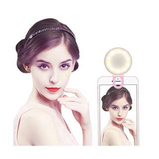LED Mini Beauty Selfie Ring Light