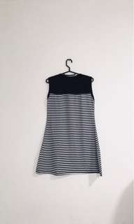 dress tanpa lengan/ tank top