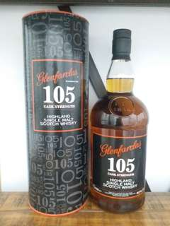 Glenfarclas 105 whisky  1000ml  60% whisky 威士忌原酒