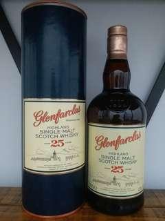 Glenfarclas 25y  whisky  威士忌 700ml  43%