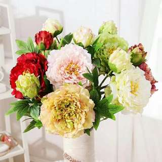 Artificial Flower (silk peony)