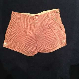 GUESS gingham shorts