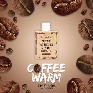 COFFEE WARM AIR DEXANDRA FRESHENER / CAR PERFUME