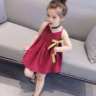 Summer Red dress for Toddlers