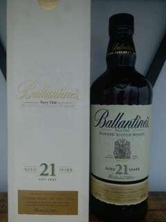 Ballantine's  21y whisky  威士忌 700ml 40%