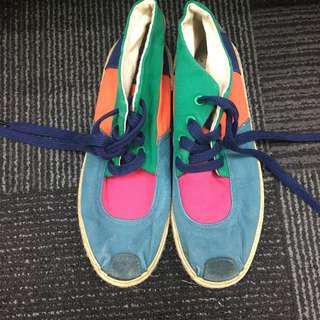 Unique colorful shoes
