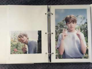 BTS MEMORIES 2017 PHOTOBOOK -LOOSE ITEM