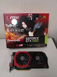 MSI Geforce 1060 6go Frozr Edition