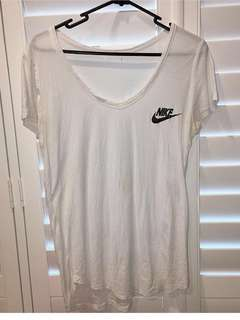 Nike V neck top