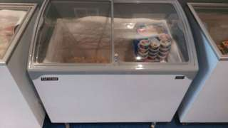 Euro Chill Chest Freezer - Sliding Curved