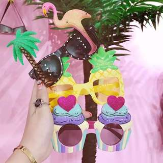 (2 pair) Summer party shades