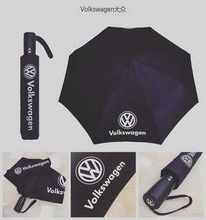 [READY STOCK] VOLKSWAGEN FOLDED UMBRELLA