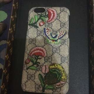 gucci embroidery case iphone 6 6s hardcase