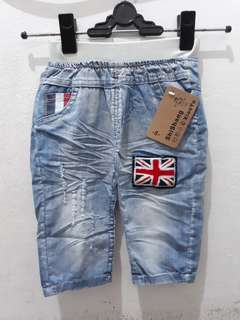 Jeans denim bendera