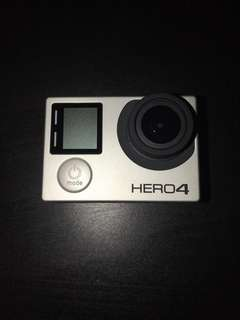GoPro Hero 4 Black 4K only use one time like new