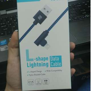 L-SHAPE LIGHTNING DATE CABLE
