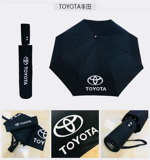 [READY STOCK] TOYOTA FOLDED UMBRELLA