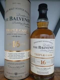 The Balvenie 16y Triple cask whisky 威士忌 700ml 40%