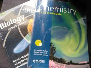 IB Chemistry and Biology Books