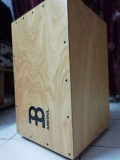 Meinl Percussion HCAJ3NT Headliner Series Wood String Cajon for Adjustable Snare Effect, Large Size