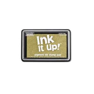 Ink It Up! - Pigment Ink Stamp Pad - Metallic Gold