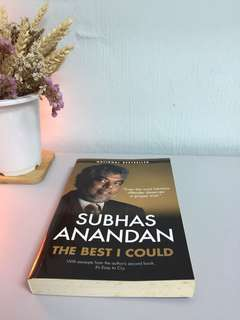 The Best I Could By Subhas Anandan