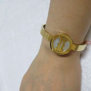GOLD LOVE STAINLESS BANGLE NEW HOGH QUALITY