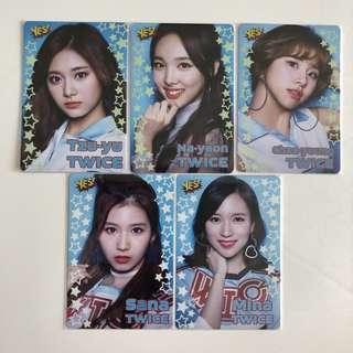 Twice Yes! Card 第21/20期 夜光卡