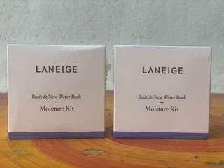 Laneige Basic & New Water Bank Moisture Kit