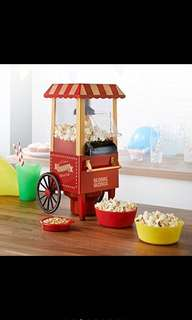 Electric popcorn maker