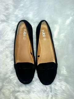 Cotton On Rubi Black Loafers
