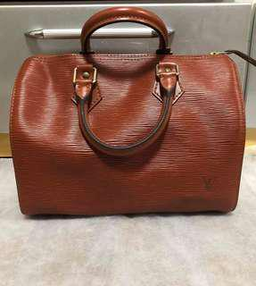Authentic Louis Vuitton Speedy 25 Epi