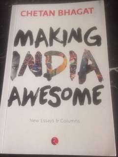 Making India Awesome by Chetan Bhagat
