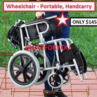 Wheelchair (Compact) - Brand New