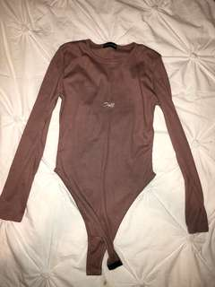 Dusky pink bodysuit
