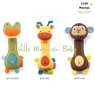 Baby Animal Squeaky BPA Free Toys Bite/Teething